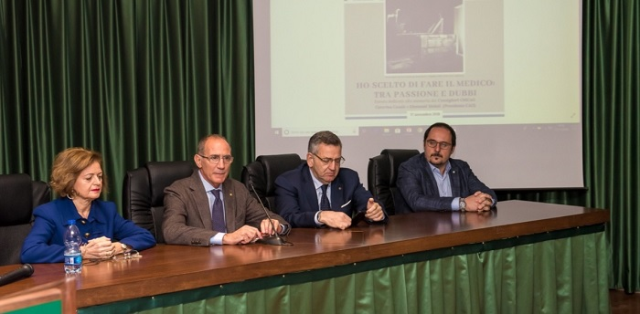 Incontro sulla Professione Medica. Ricordati i consiglieri OMCEO Caterina Casale e Giovanni Moleti (Presidente CAO)