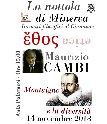"""Al via il secondo incontro del ciclo filosofico promosso dal Liceo """"Pietro Giannone"""", """"La nottola di Minerva"""""""