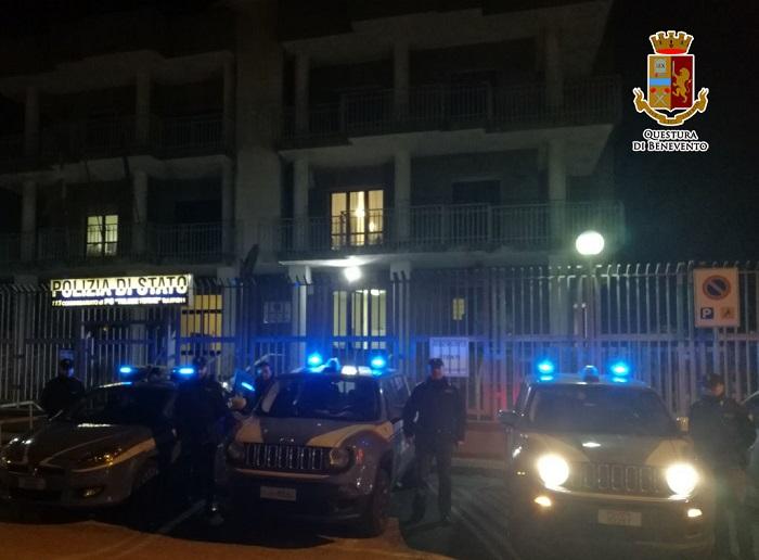 Telese Terme. Banda di ladri sgominata dalla Polizia di Stato