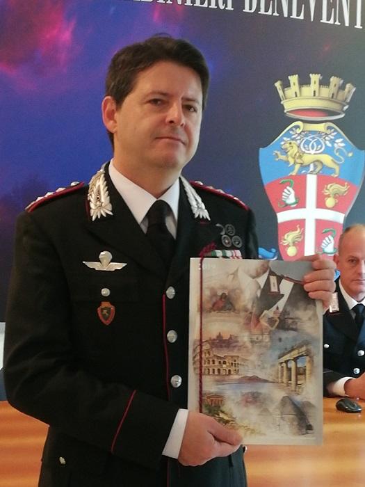 Benevento. I Carabinieri presentano il Calendario Storico e l'Agenda Storica 2019