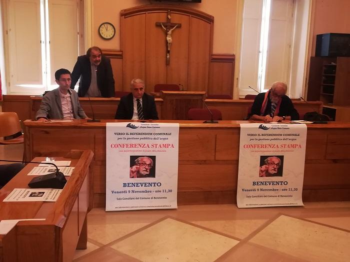 Lettera aperta alle scuole e alla città di Benevento dal Comitato Sannita Acqua Bene Comune