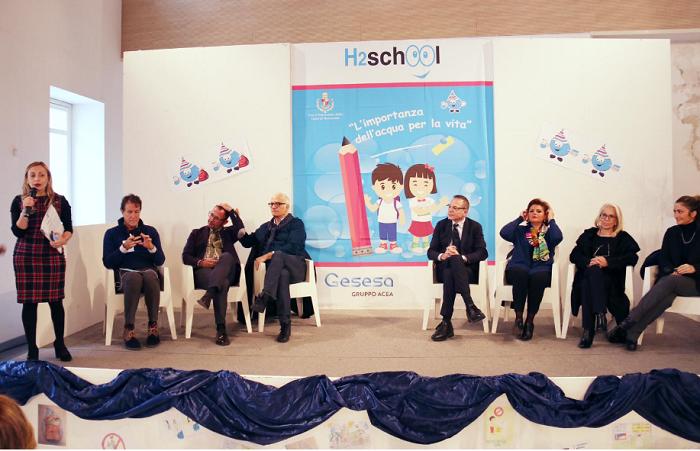 H2School, Concorso Gesesa: 'L'importanza dell'acqua per la vita'.Premiazione e consegna degli attestati a Palazzo Paolo V.