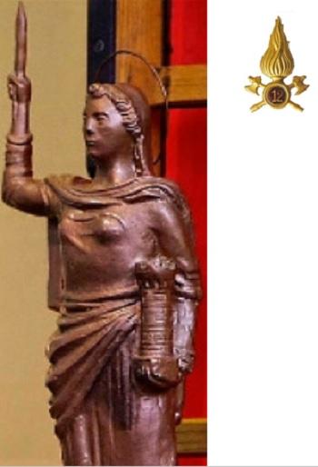 Vigili del Fuoco.Celebrazioni in onore di Santa Barbara in osservanza alle disposizioni Covid in vigore