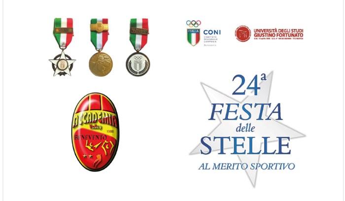 Stella d'Argento CONI all'Accademia il 19 Novembre.