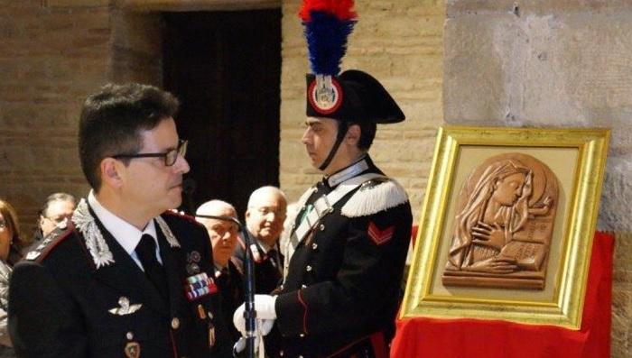 """Benevento: mercoledì l'Arma dei Carabinieri celebra la """"Virgo Fidelis""""."""