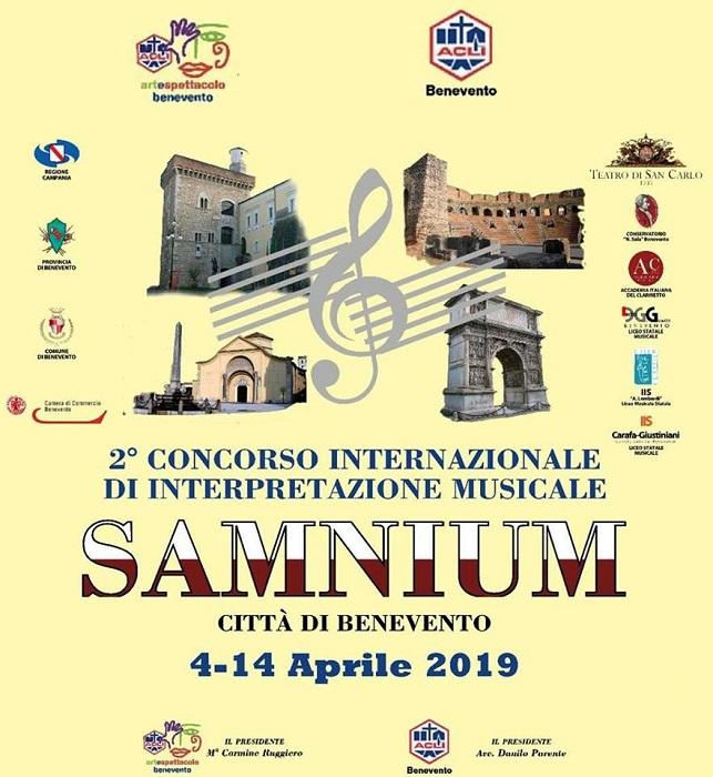 """Presentato  il II Concorso Internazionale di Interpretazione Musicale """"Samnium"""" per Clarinetto e Oboe"""