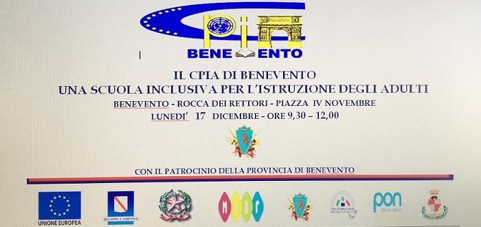 Il CPIA di Benevento organizza dibattito pubblico presso la Rocca dei Rettori.
