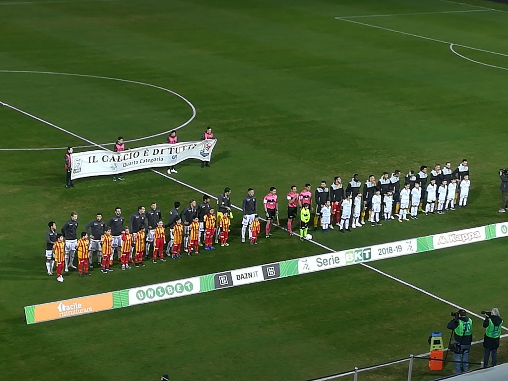 Benevento irriconoscibile. Benevento 0 Verona 1