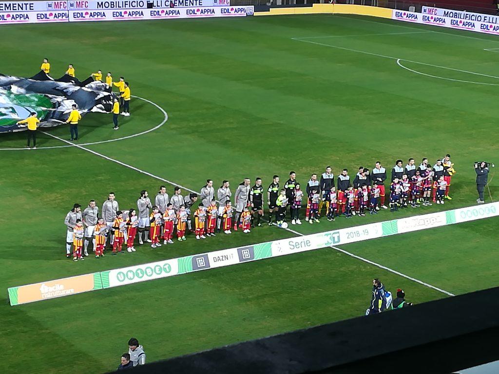 Il Benevento torna a vincere al Vigorito con un secco 3 a 0 sul Crotone