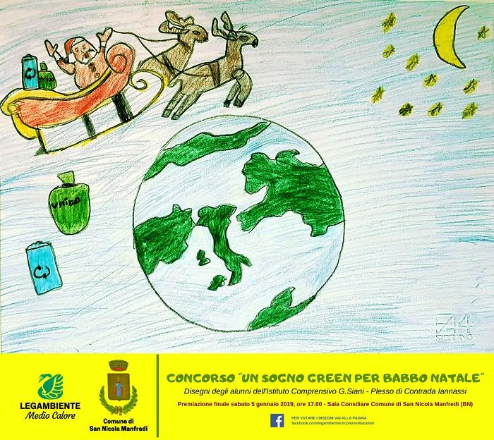 """Al via il concorso """"Un sogno green per Babbo Natale"""""""