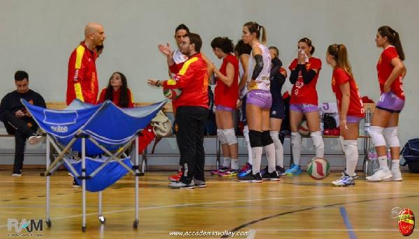 Icaro Accademia superata in 4 set a Pontecagnano