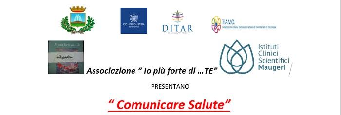 """""""Comunicare Salute"""", venerdì 14 Dicembre a Telese Terme il secondo incontro."""