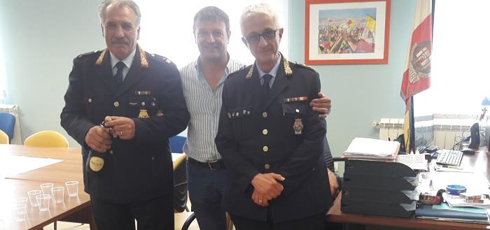 Polizia Municipale,Liquidazione delle spettanze,il comandante Giovanni Fantasia ringrazia.
