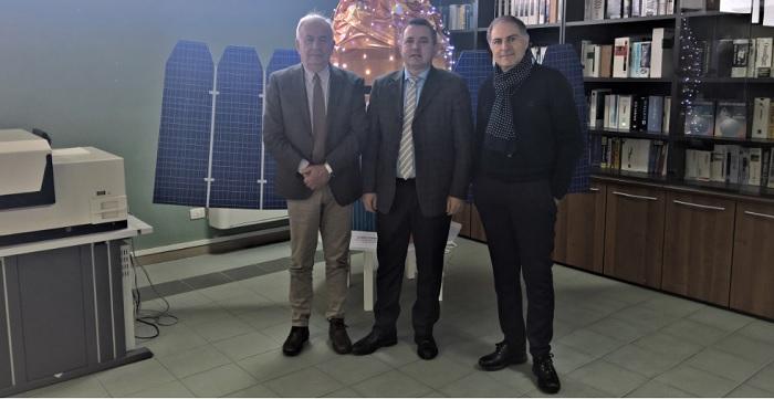 Il Presidente della Provincia Antonio Di Maria visita tre centri di ricerca nel Sannio.