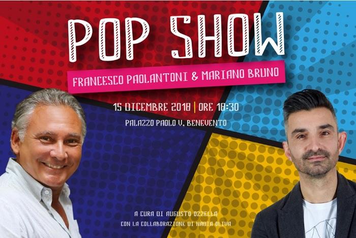 POP SHOW la mostra sarà inaugurata il 15 Dicembre a Palazzo Paolo V.