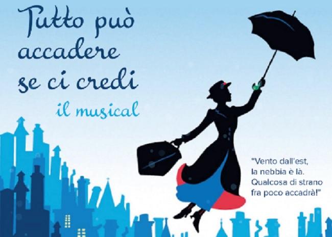 """Gli studenti De La Salle in scena al Teatro Massimo nel Musical """"Tutto può accadere se ci Credi""""."""