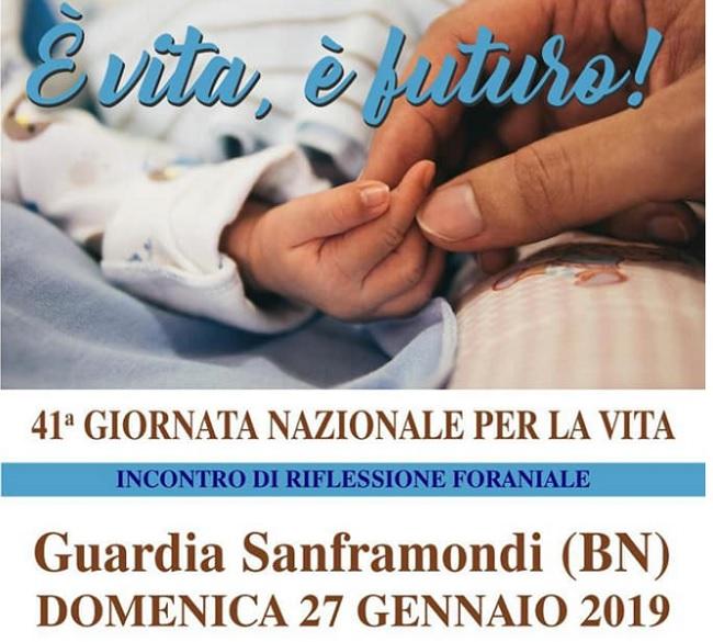 Diocesi di Cerreto, Telese, Sant'Agata: Giornata per la Vita 2019, due i momenti di riflessione a livello foraniale