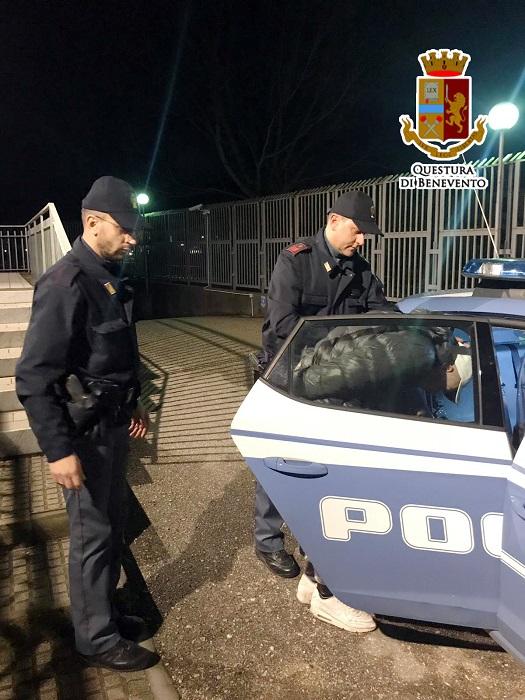 Telese Terme. Rapina aggravata, la Polizia di Stato arresta un 24enne