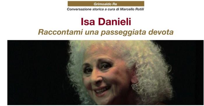 A Benevento arriva la grande attrice italiana Isa Danieli