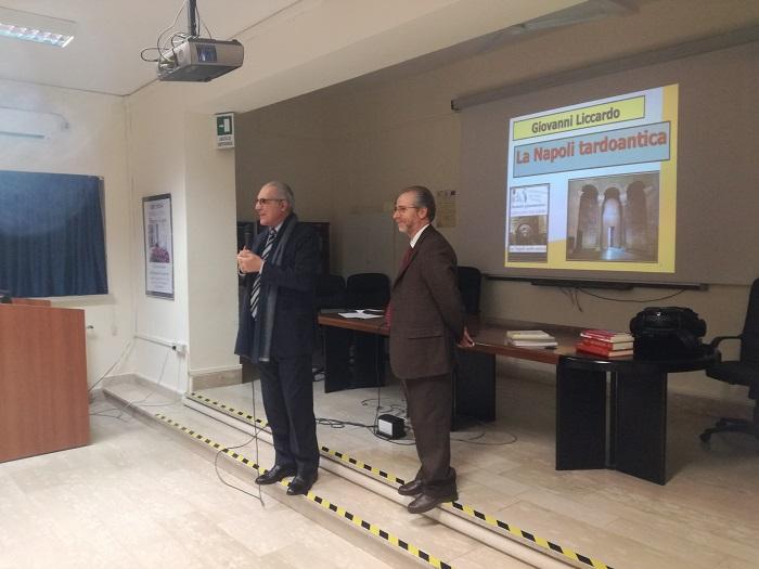 Liceo Classico Giannone. Liccardo e la Napoli tardo-antica: una sintesi del quarto incontro giannoniano