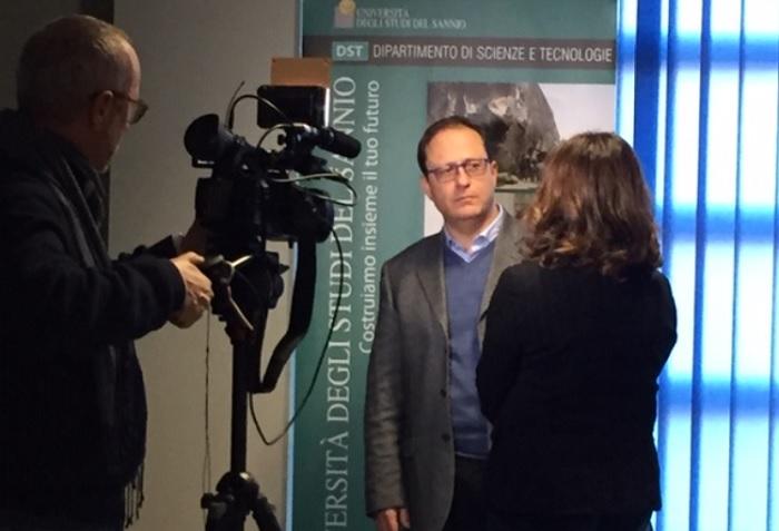La RAI al Dipartimento DST di Unisannio.Big Data: Intervista al prof. Stefano Pagnotta in onda lunedì per Fuoritg.