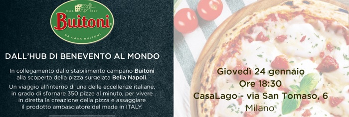 Buitoni di Benevento lancia le nuove referenze sulla Pizza Bella Napoli.