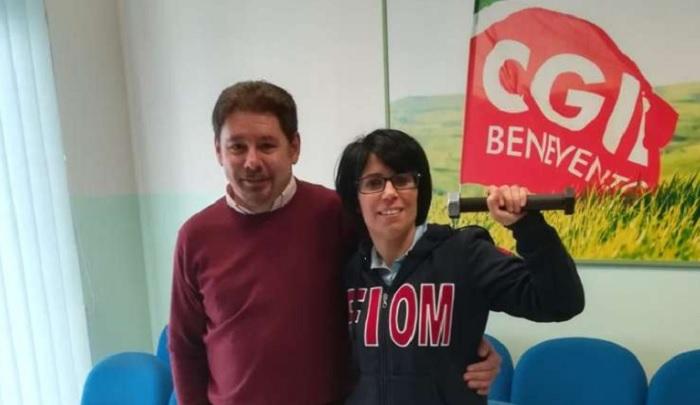 Cgil  Benevento, è Luciano Valle il nuovo segretario generale.