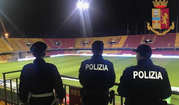 Match Benevento – Brescia, esplosione di un petardo.Il questore emette un Daspo.