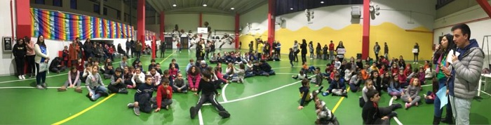 """Acr, """"La Pace è servita"""" da bambini e ragazzi a Gioia Sannitica."""
