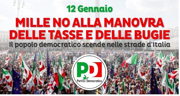 Manovra Governo Salvini.I Circoli DEM Caudini aderiscono alla campagna di mobilitazione.