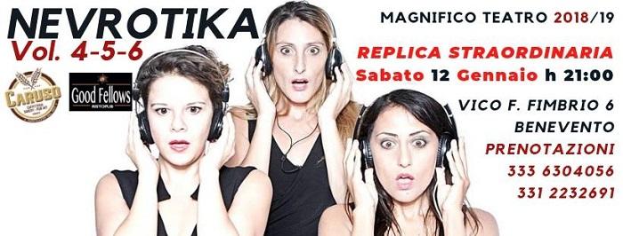 "Il Magnifico Visbaal Teatro presenta ""Nevrotika (VOL 4-5.6)"""
