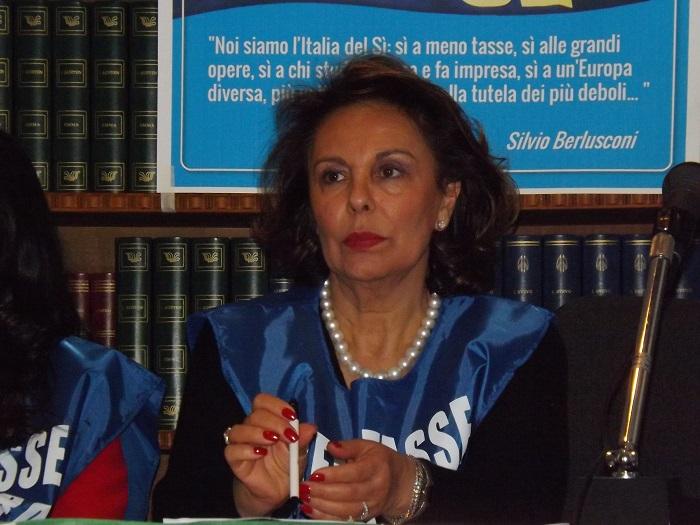 La Presidente Stefanelli rieletta alla guida dell'ACI di Benevento.Messaggio augurale della senatrice Sandra Lonardo(FI)