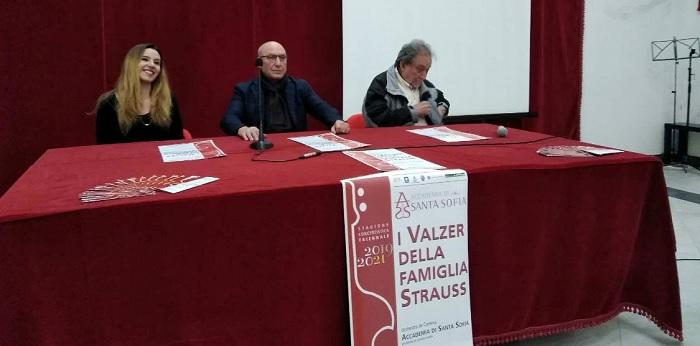 """A Palazzo Paolo V Presentata la """"Stagione Concertistica 2019-2021""""dell'Accademia di Santa Sofia di Benevento."""