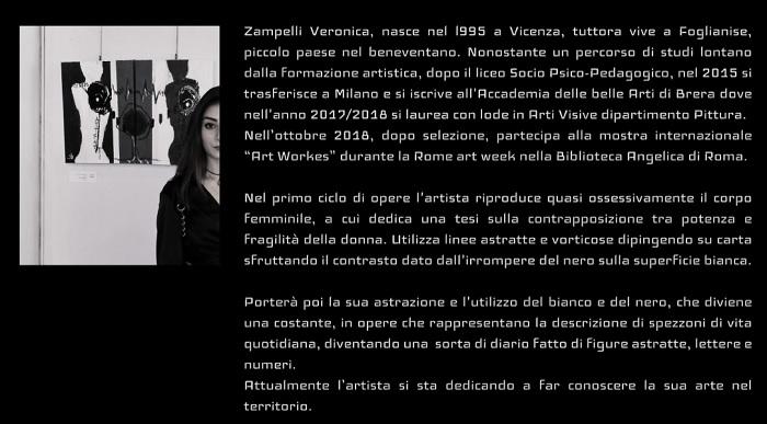 """A Palazzo Paolo V la Mostra contemporanea """"InControLuce"""" dell'artista Veronica Zampelli."""