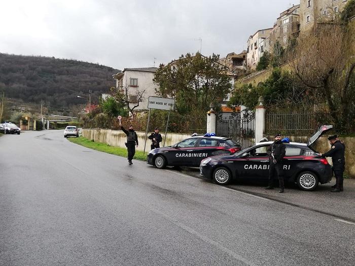 Carabinieri. Intensa attività di controllo in Valle Caudina