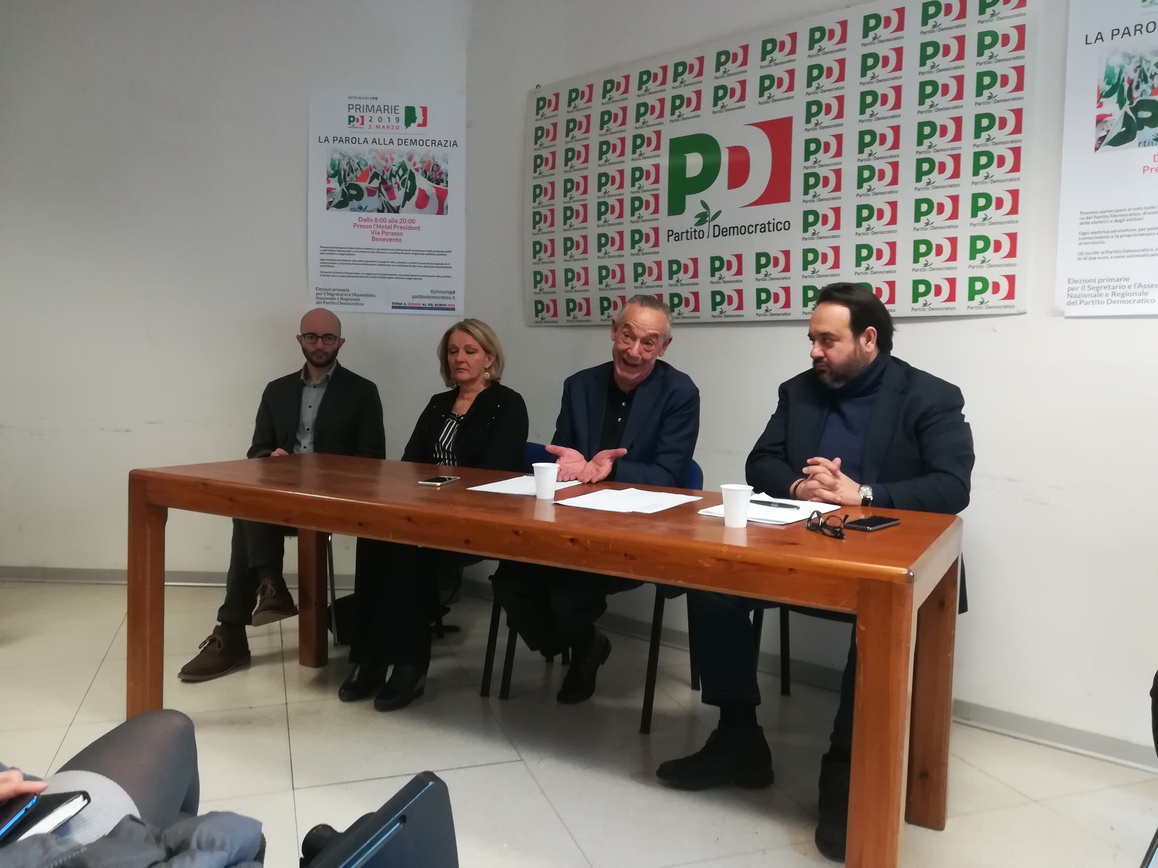 Cadute di Stile del Presidente Iacovella.Netta Condanna del PD Sannita