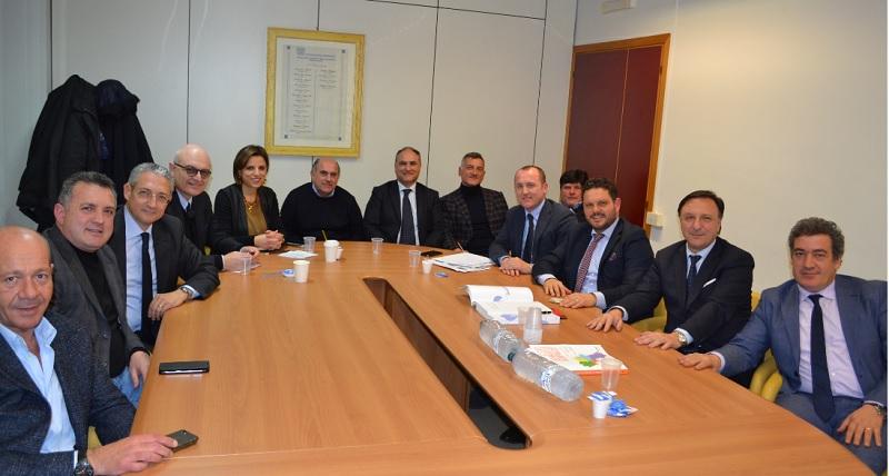Short list di imprese per i lavori pubblici. Gli Imprenditori incontrano il Presidente della Provincia.