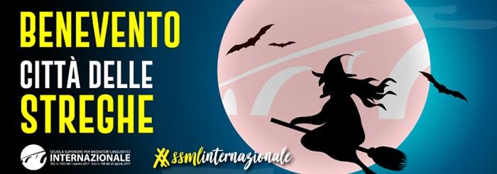 """Domani Conferenza Stampa Benevento """"Città delle Streghe"""" alla SSML Internazionale"""