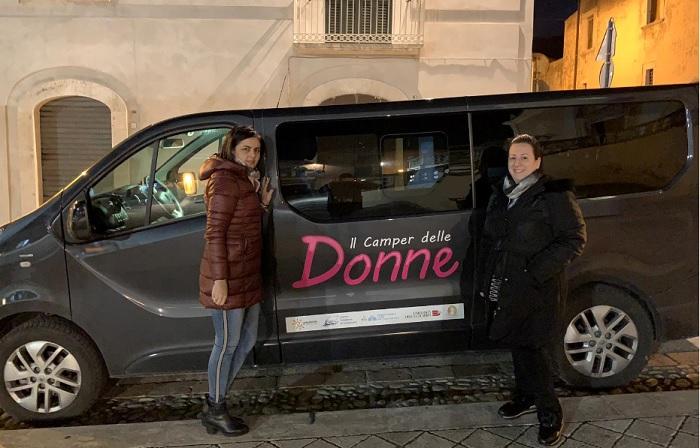 """Terminato il tour del Camper delle Donne di Caritas, iCare e Fondazione """"Ianieri – D'Ambrosio"""""""