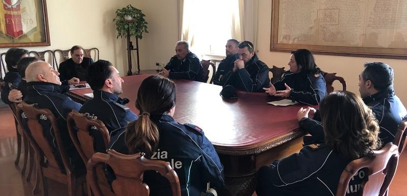 Stop al traffico: Il sindaco ha incontrato stamani una delegazione dei Vigili Urbani