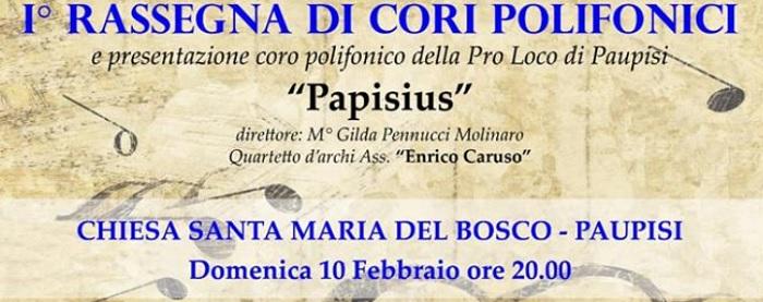 A Paupisi, domenica il debutto della corale 'Papisius'.