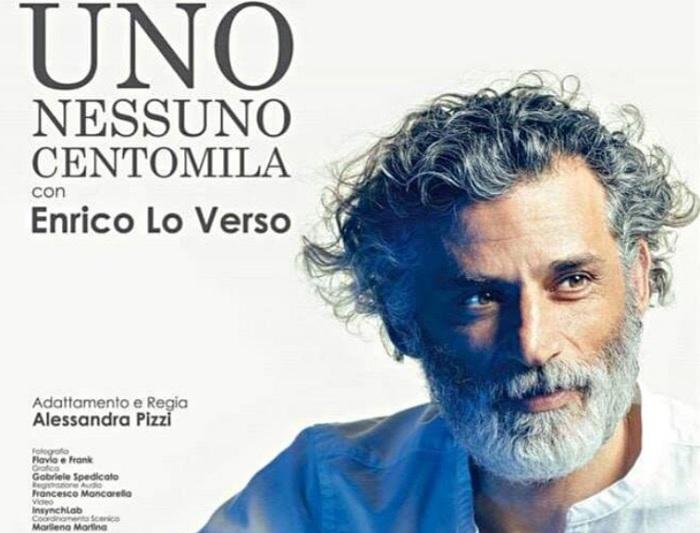"""Invito a Teatro: in scena Enrico Lo Verso in """"Uno, nessuno, centomila"""""""