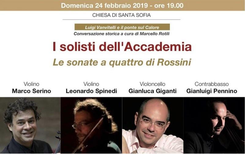 """Per la Rassegna """"Santa Sofia in Santa Sofia"""" Le Sonate a Quattro di Rossini."""
