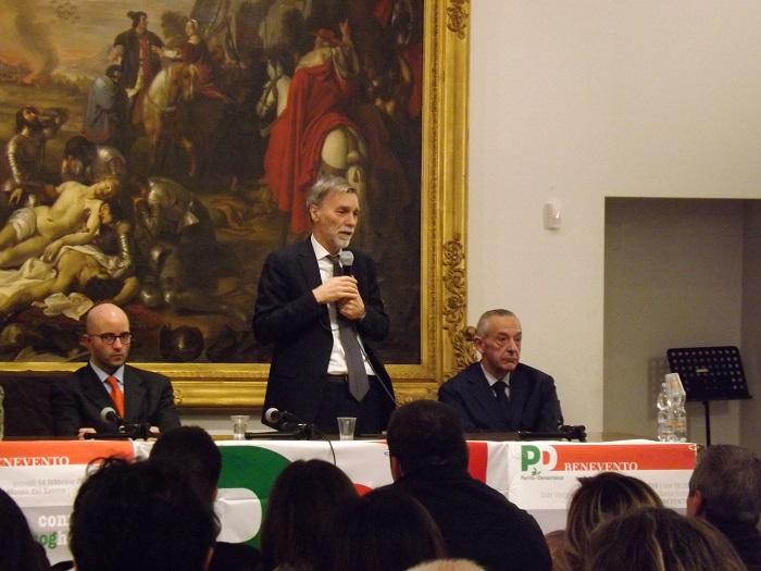 """Delrio """"L'Italia riparte se riparte il sud"""""""