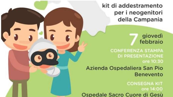 Al Fatebenefratelli Giovedì 7 Febbraio dalla Regione Campania un Kit per le Neo Mamme