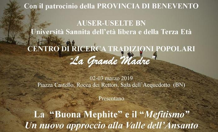 La Grande Madre Mefitis e la Valle dell'Ansanto alla Rocca dei Rettori