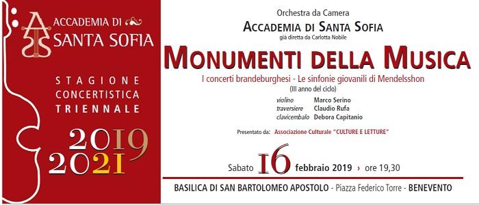 """Orchestra dell'Accademia di Santa Sofia: sabato """"I concerti brandeburghesi, le sinfonie giovanili di Mendelssohn"""""""