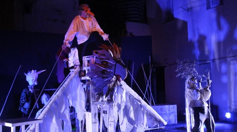 """Teatro Eidos, in scena: """"La fantastica storia dell'Orlando furioso"""""""