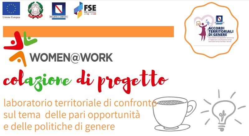 """Rocca dei Rettorii, il 28 Febbraio al via la Col-Azione di progetto per """"Women@Work""""."""