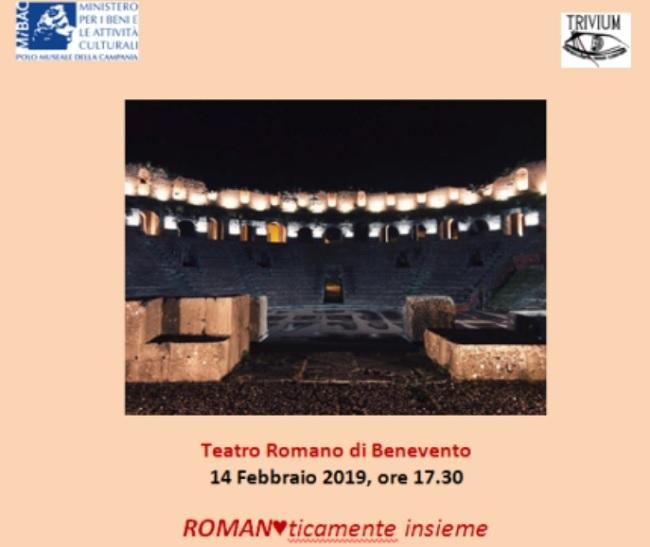 Il 14 febbraio al Teatro Romano la manifestazione Romanticamente insieme…
